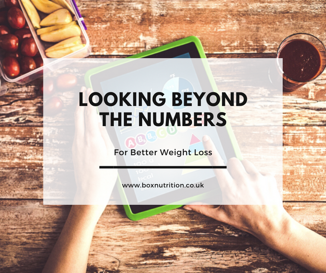 More than kcals - Looking beyond the numbers for weight loss