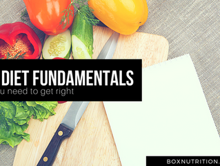 5 Diet fundamentals you need to get right