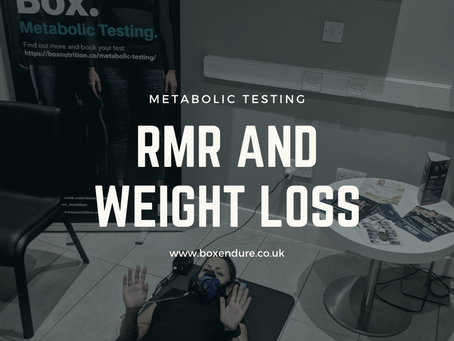 Understanding resting metabolic rate and weight loss