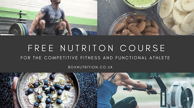 Food Prep - A Complete Guide | Nutrition for Competitive Fitness