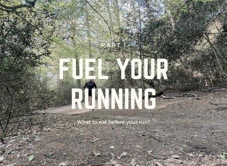 Fuel your running - what should you eat before you run?