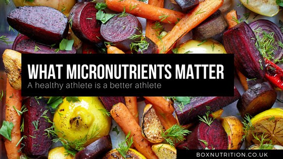 Micronutrients that matter