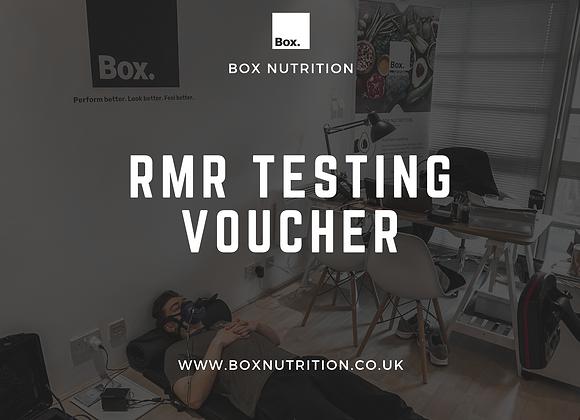 RMR Testing Voucher