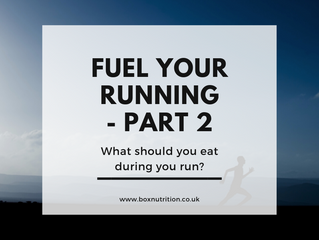 Eat to run - What to eat during your run