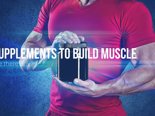 Supplements for muscle gain - are there any?