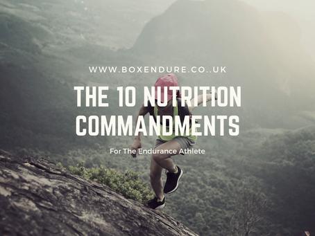 The 10 Nutrition Commandments For The Endurance Athlete