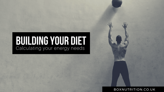 Building your diet as an athlete - calculating your energy needs