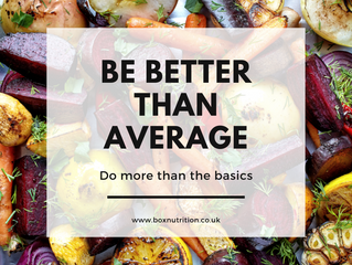 Be better than average - why you need more than the  basics