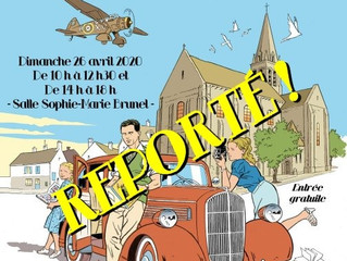 Salon du 11 avril annulé !