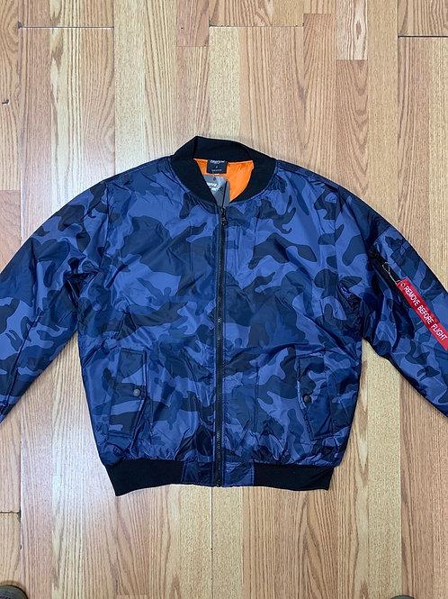 Camouflage Flight Jacket