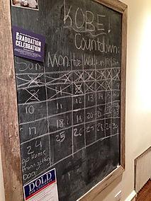countdown board