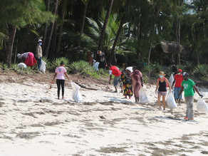 International Coastal Cleanup: Team Kenya - South Coast