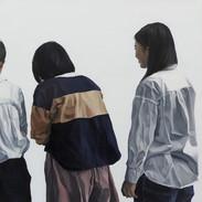 無題 キャンバス、油絵具 1120×1940mm 2019