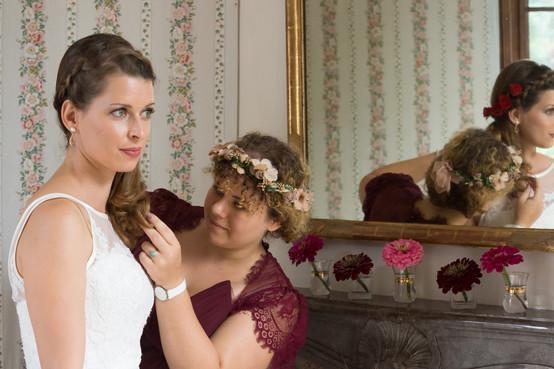 Hochzeits-Make-up für eine ganz natürliche Braut