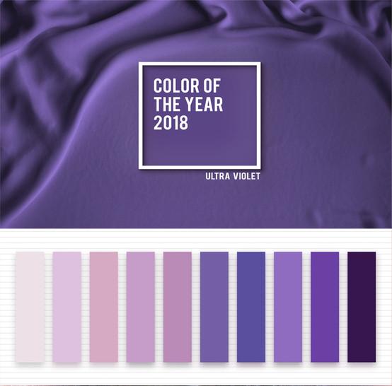 """""""Ultra Violet"""" ist die Pantone Farbe des Jahres 2018"""