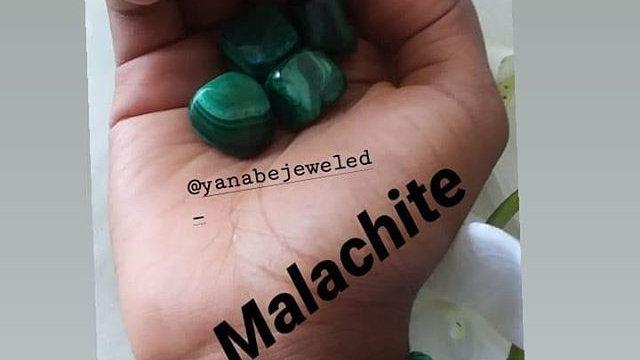 Malachite Stone Bracelet 8mm