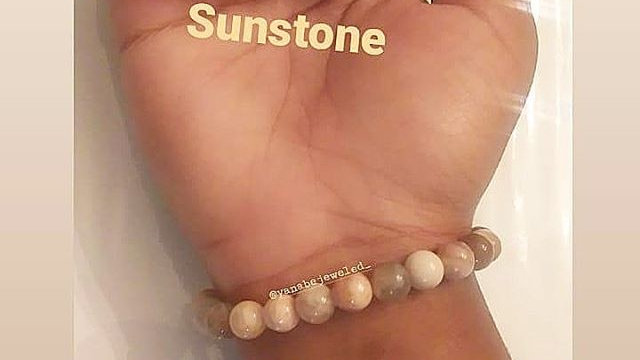Sunstone Bracelet 8mm