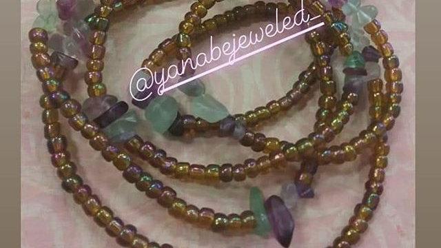 Healing Stone Waist Bead