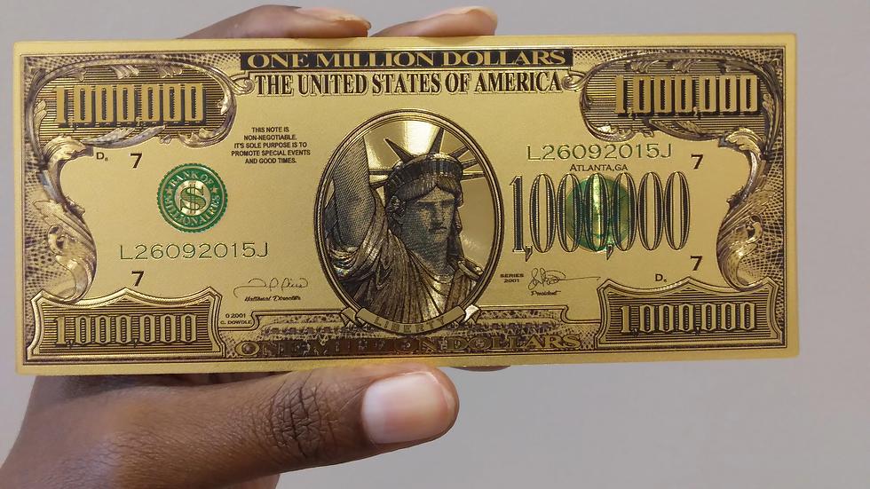 Gold Prosperity Bill