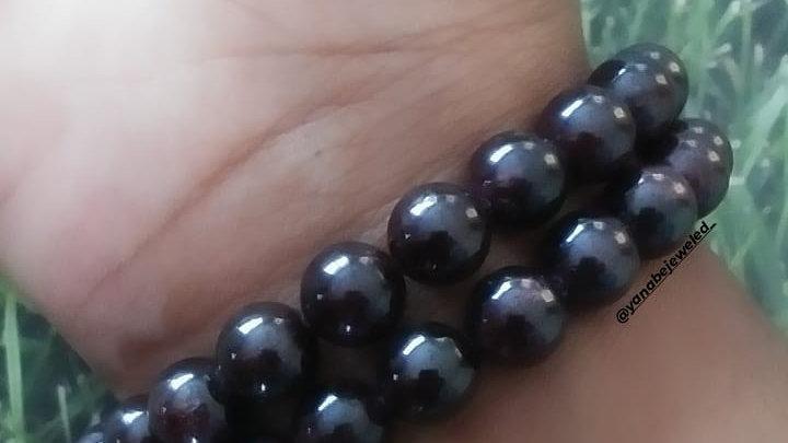 Garnet Bracelet 8mm