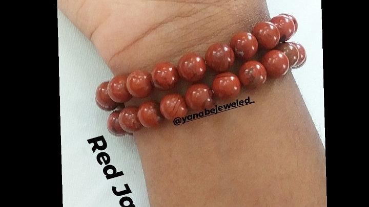 Red Jasper Bracelet 8mm