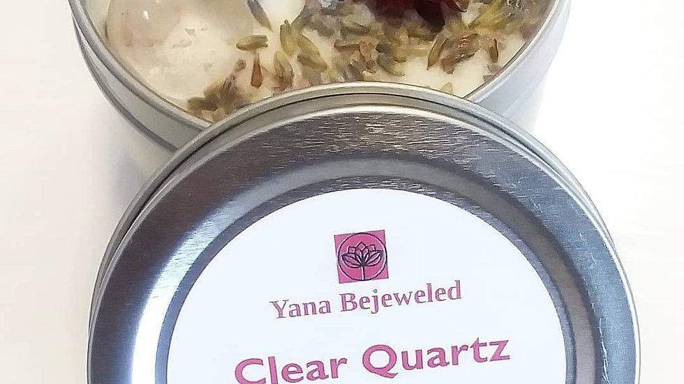 Clear Quartz Candle 6 oz