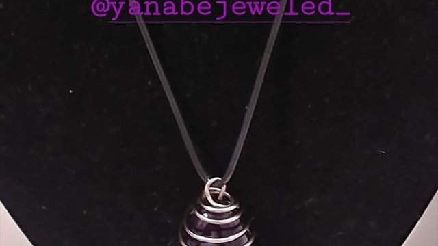 Amethyst Necklace with Matching Bracelet