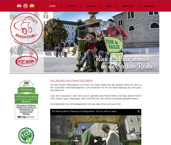 Rikscha Tours Salzburg