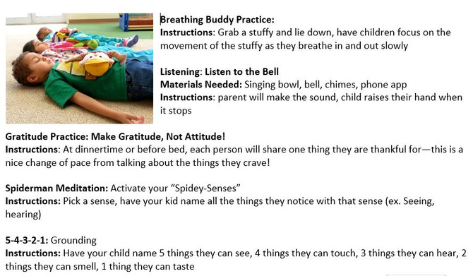 8 Mindfulness Practices with Kids