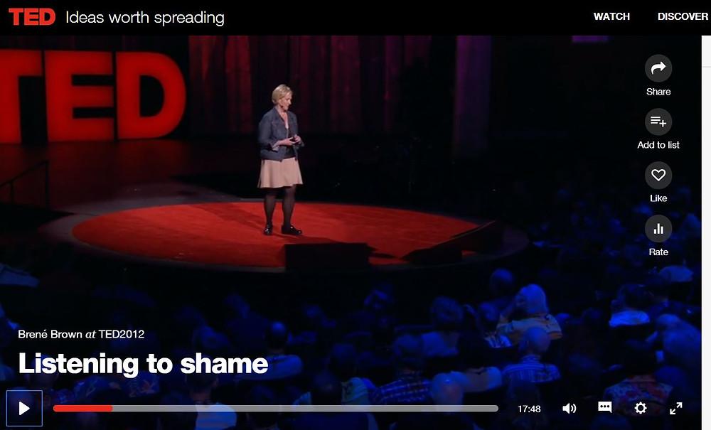 listening to shame