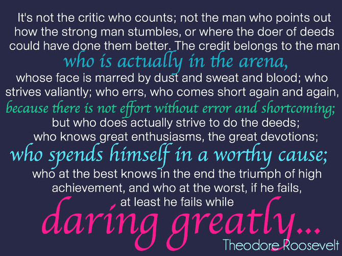 Facing Shame: Daring Greatly
