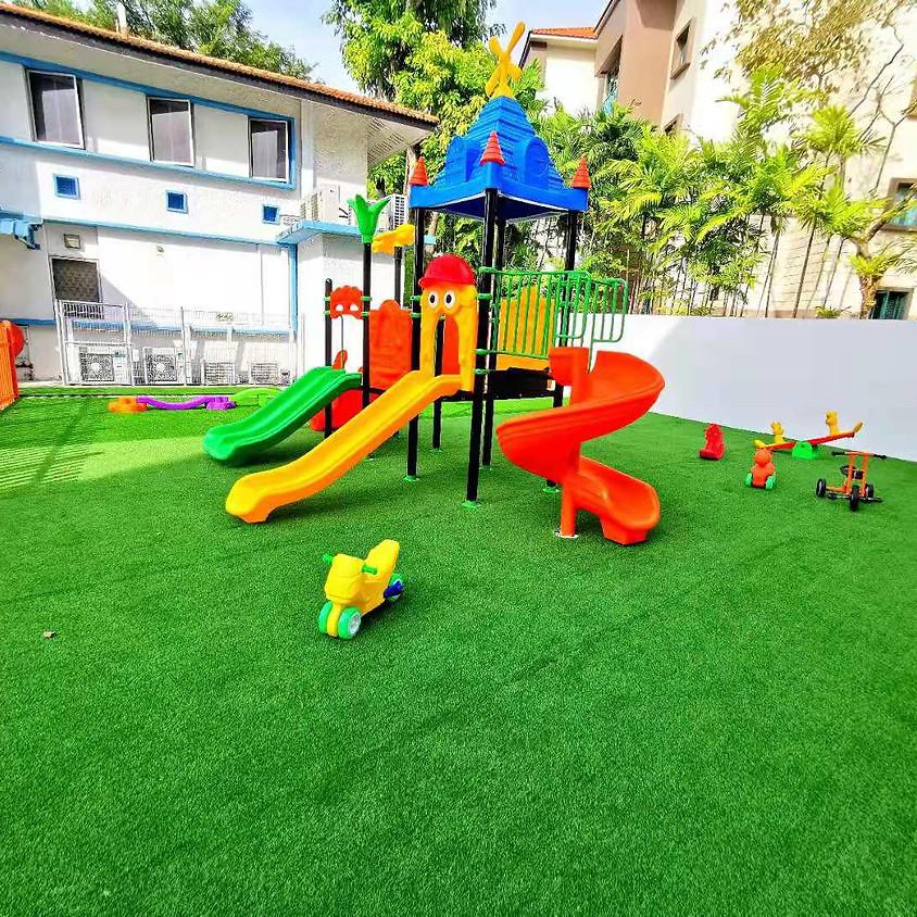 Playground Open (Temporarily)