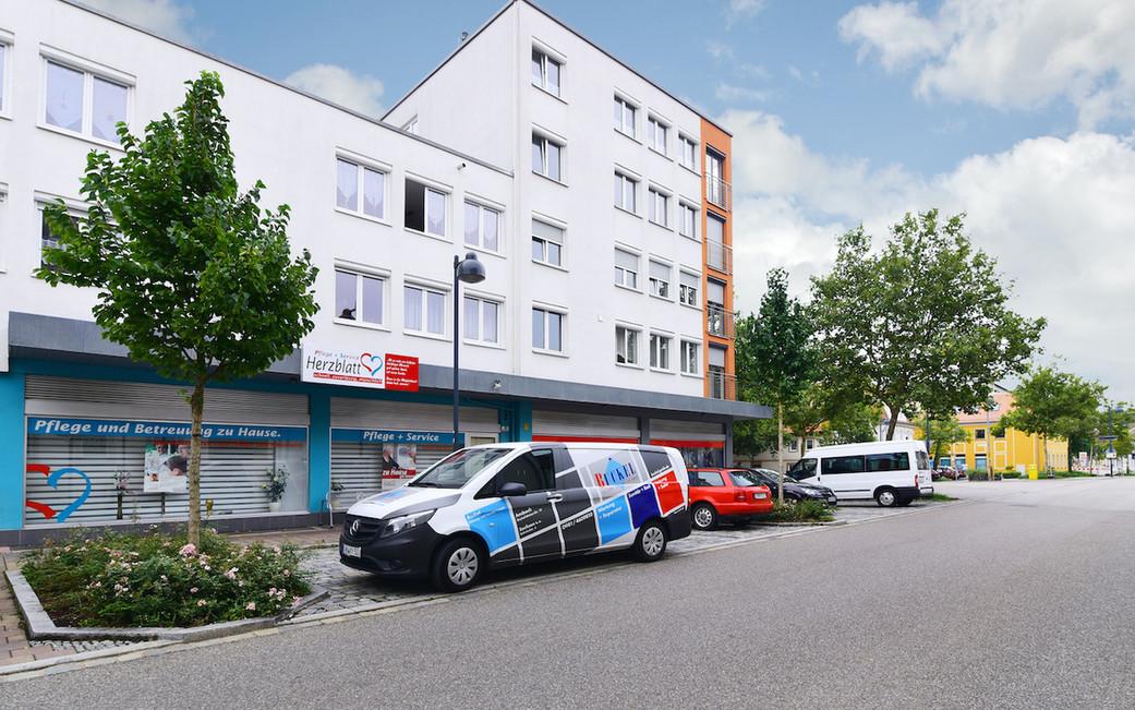 Gewerbe- und Pflegekomplex – Ansbach