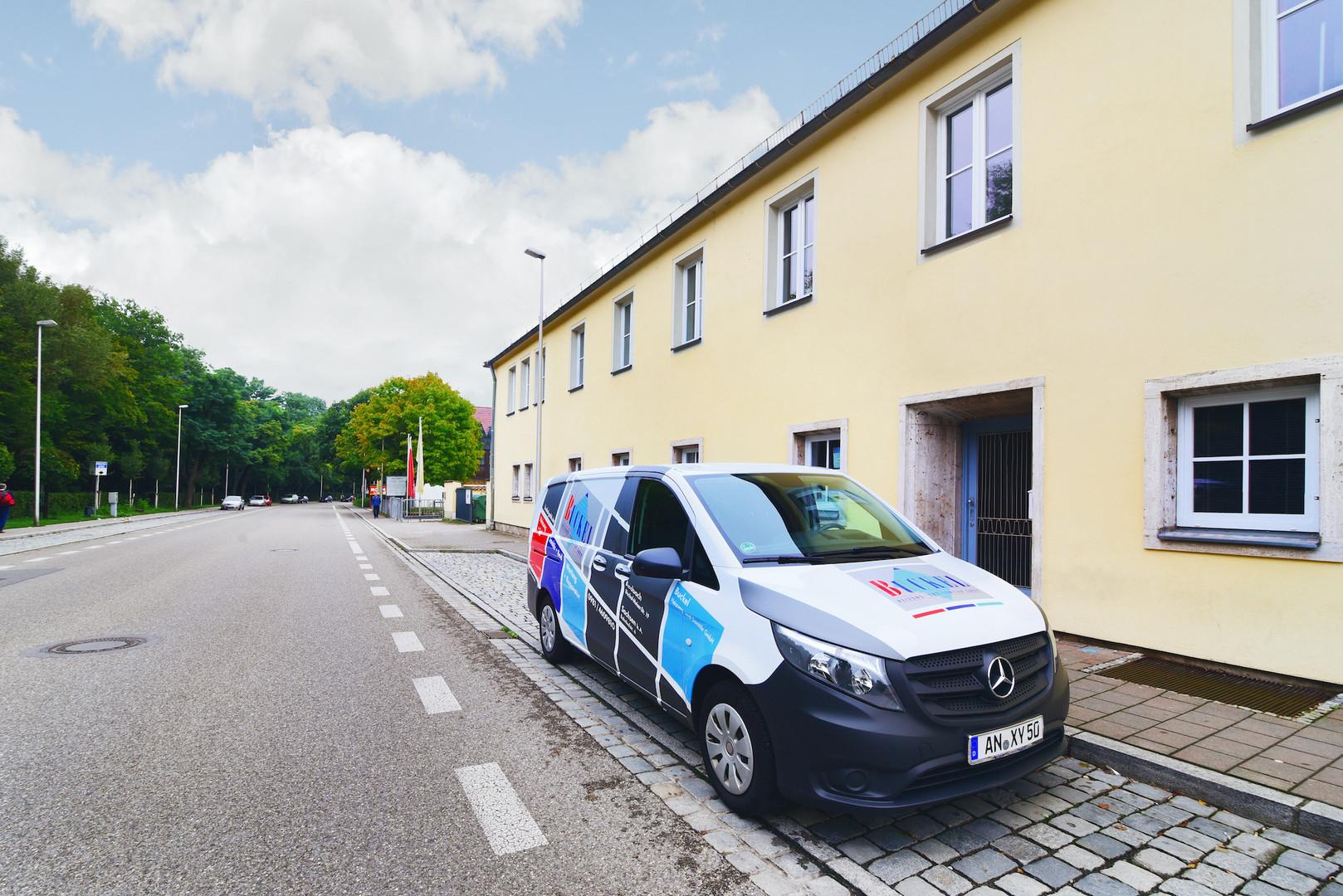 Büro- und Schulkomplex – Ansbach