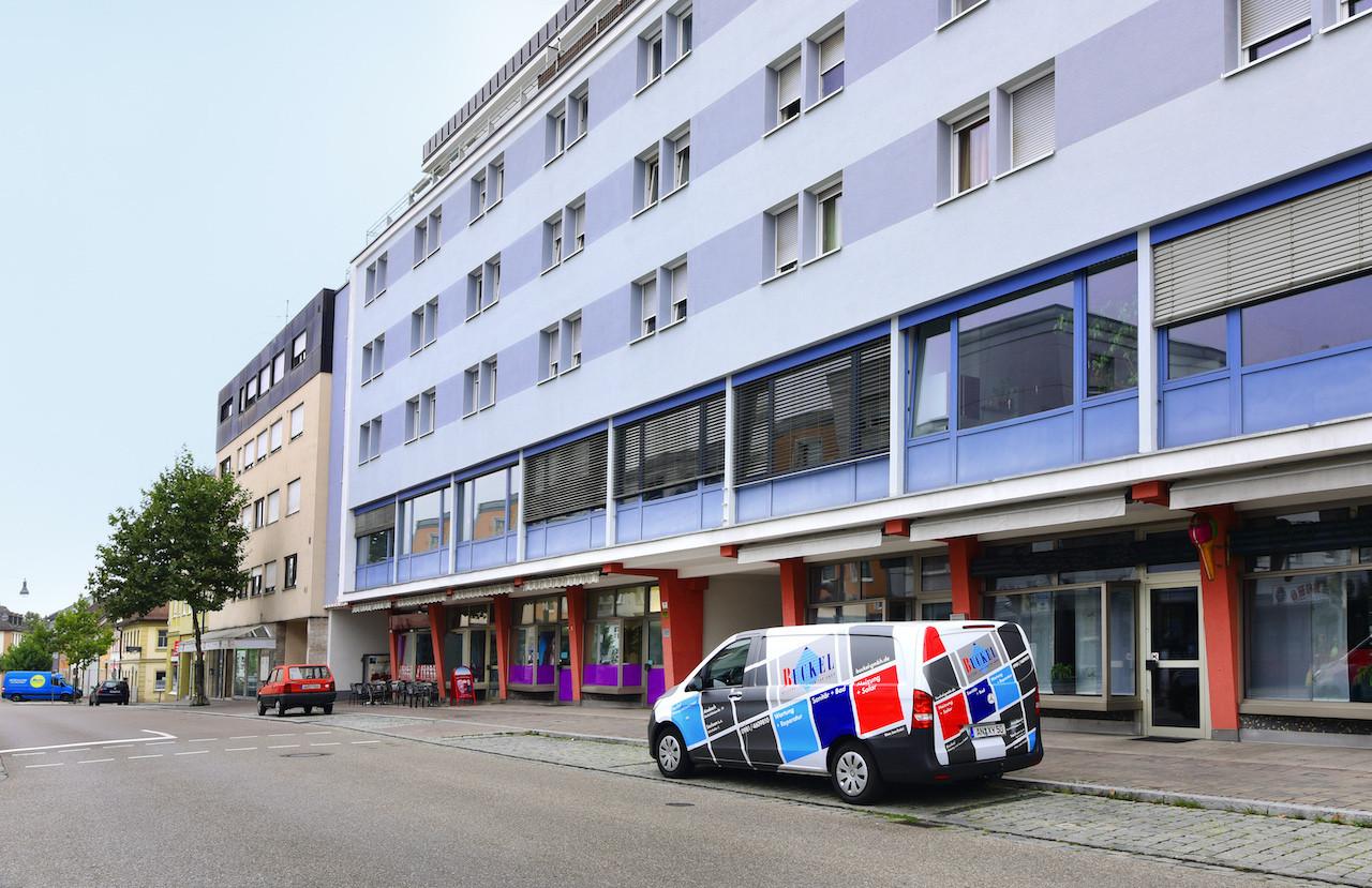 Wohn, Büro- und Gewerbekomplex – Ansbach