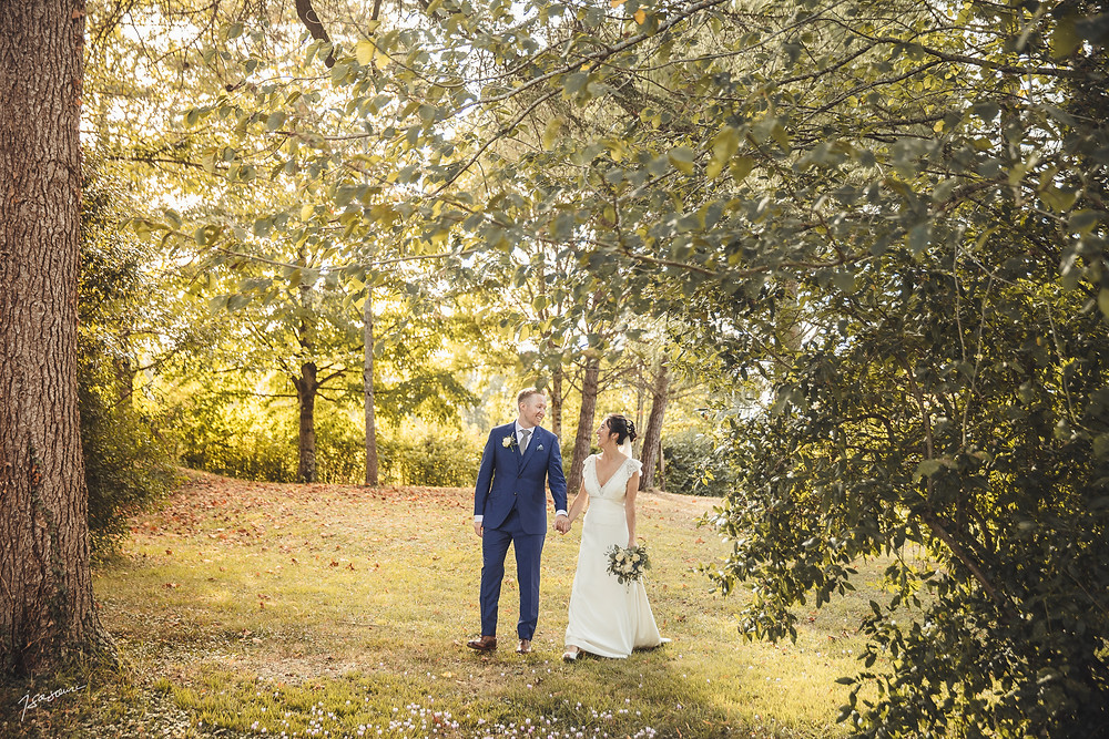 Wedding couple, planning by Mariage en Gascogne