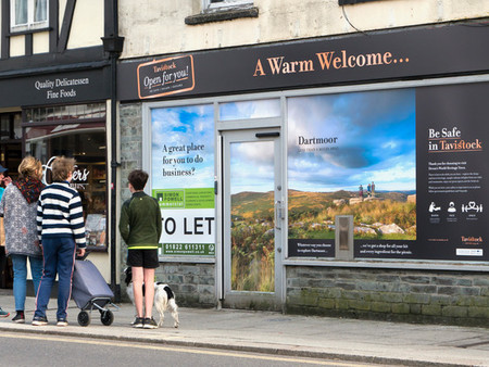 Beautiful Billboards: The Idea Behind The Shop Front Vinyls In Tavistock