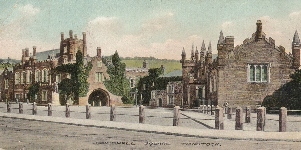 'Tavistock Guildhall – The Past' – From Abbey ruins to iconic symbol of Crime & Justice