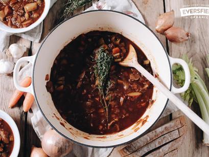 An Organic Recipe By Eversfield: Homemade Winter Stew