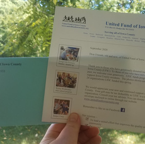 Campaign letters have been mailed out.