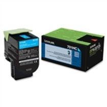 Lexmark 701HC Cyan High Yield Toner Cartridge