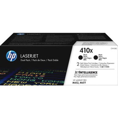 HP 410X Dual Pack Black toner Cartridge
