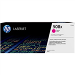 HP 508X Magenta HY Toner Cartridge 12500 Pages