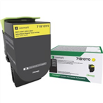 LEXMARK CS/X317/417/517 YELLOW TONER (2300 PG. YIELD)