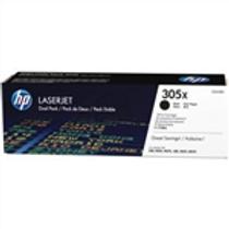 HP 305X 2 pack High Yield Black Original LaserJet Toner Cartridges