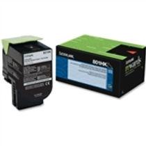 Lexmark 801HK Black High Yield Toner Cartridge (4,000 pg. yld.)