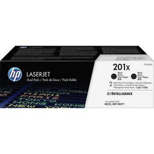 HP 201X HY Black Dual Pack Toner Cartridges (2)