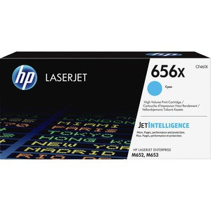 HP 656X Cyan HY Toner Cartridge