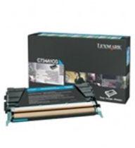 Lexmark C73X and X73X Cyan Toner Cartridge   6,000 page yield