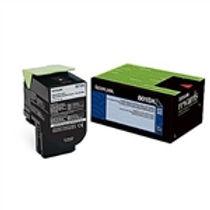 Lexmark 801SK Black Standard Yield Toner Cartridge (2,500 pg. yld.)